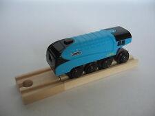 Motorised Battery Mallard 4468 Train Engine Wooden Track ( Brio Thomas )