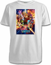 Lego Guardians Of The Galaxy Kids T-Shirts - 2 Designs / 7 Colours / Sizes 1-15
