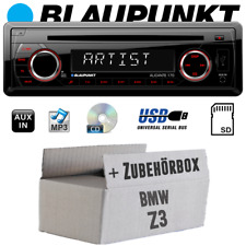 Blaupunkt Autoradio Per BMW Z3 CD/MP3/USB Accessori Montaggio Set di Auto