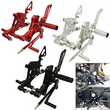Adjustable Rearsets Footrests Foot Pegs For DUCATI Monster 800 1000 S2R S4 R/RS