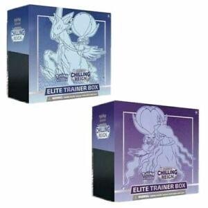 Pokemon Sword and Shield Chilling Reign Elite Trainer Box ETB Pre-order 6/18