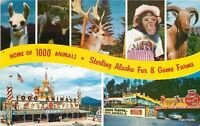 1950s Roadside Amusement Home 1000 Animals Lake Placid New York 5084
