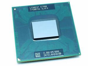 Working Intel Core 2 Extreme X7900 2.8 GHz Dual-Core SLAF4 CPU Processor