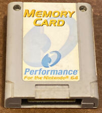 Performance memory card for the Nintendo 64 P-302W. N64