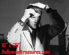 "Elvis Presley~Hair Salon~#4~Barber~Photo~Rockabilly~Stylist~Combing Hair~16""x20"""