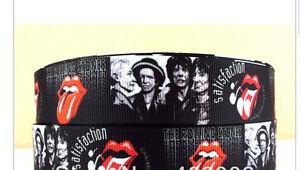 Rolling Stones Ribbon Mick Jagger 1m long