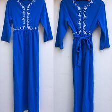 Vintage Loungewear Robe Housecoat Dress Maxi Dress Festival Dress VTG Sz 12 S M