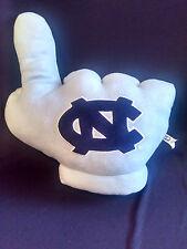 NC NORTH CAROLINA TARHEELS UNC # 1 PLUSH GLOVE FAN HAND