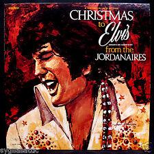 ELVIS PRESLEY-CHRISTMAS TO ELVIS FROM THE JORDANAIRES-Christmas Album-CLASSIC