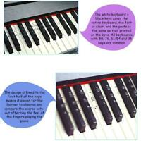 49 61 88 Key Electronic Keyboard Piano Numbered Notation Aufkleber Note Y6Z7