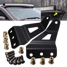 "Windshield 50""/52"" Light Bar Mounting Bracket For Chevrolet Silverado GMC Sierra"