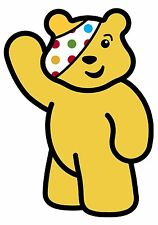 Pudsey Bear Children In Need T shirt Transfer Iron On Charity 2017 Spots A5