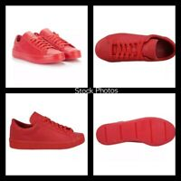 NEW ADIDAS Men's COLOR VANTAGE ADICOLOR Scarlet Red LEATHER 9.5 Shoes S80253