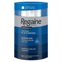 Regaine For Men Hair Regrowth Foam, 3 x 73 ml