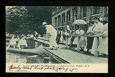 Buffalo, New York NY Vintage postcard Summer in Delaware Park 1907