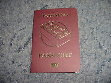 The Lego Store red passport with Manchester UK store stamp NEW 2017