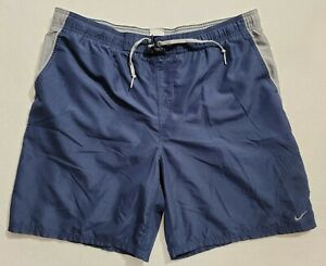 Vintage Nike Drawstring Swim Trunks With Back Hit Size Mens Large