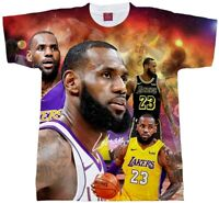 LEBRON JAMES IN LA. SUBLIMATION T-SHIRT..