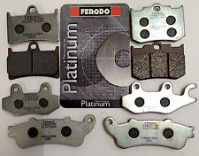 FERODO PASTIGLIE PLATINUM FRENO ANT LAVERDA 600 OR ATLAS 1987-