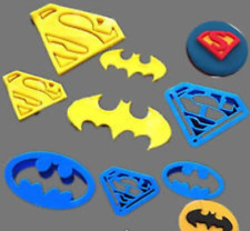 4Pcs/set Super Hero Batman  Superman Cookie Cutter Sugarcraft Cake Decoration