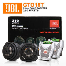 "JBL GTO18T 1"" Grand Touring Series Component Tweeters with Crossovers"
