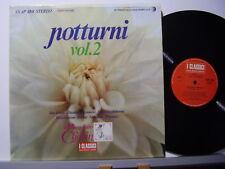 FRYDERYK CHOPIN NOTTURNI VOL. 2 disco LP 33 giri MUSICA CLASSICA Made in Italy