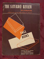 SATURDAY REVIEW Magazine October 18 1941 FALL BOOKS