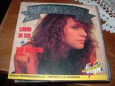 "BON JOVI ""LIVING IN SIN ""  ITALY'88 PROMOZIONALE"