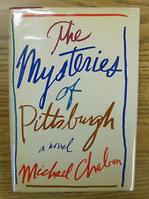Michael Chabon. THE MYSTERIES OF PITTSBURGH. 1st HC/DJ. Chabon's 1st Book!  F/F!