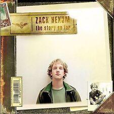 Zack Hexum - THE STORY SO FAR CD [2004] - Near Mint