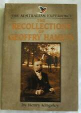 THE RECOLLECTIONS OF GEOFFRY HAMLYN Henry Kingsley SC