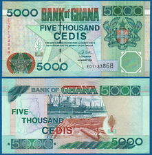 5000 Ghana di cedi 2006 UNC p.34 J