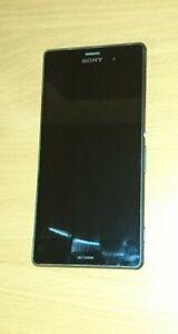 Sony Xperia Z3 Black 16GB Unlocked Smartphone