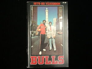 1979-80 Chicago Bulls NBA Basketball Yearbook