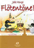Blockflöte Noten Schule : Jede Menge Flötentöne 1 - mit CD  (Ertl) - Anfänger