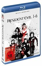 Resident Evil 1-6 (Blu-Ray, 2020, 6 Discs)