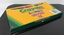 Large Size Crayola Crayons 16 Count Non Toxic Assorted Colors Kids Love C209A