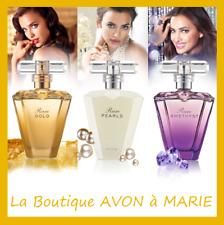 Choice Eau Perfume Avon: Rare Gold - Pearls - Amethyst - Platinum