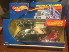2001 Hot Wheels Pavement Pounder TH Transporter with Corvette