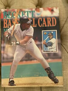 Beckett Baseball Card Price Guide August 1989