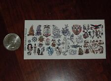 1/12 Scale Custom Tattoos: Old School and Nautical - Waterslide Decals