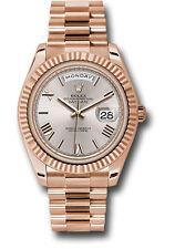Rolex Day Date President 40mm 18kt Rose Gold Sundust Roman Dial 228235 3255