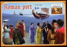 Linear-B 1/72nd Scale Roman Port Dock Plastic Figures Set New In Box