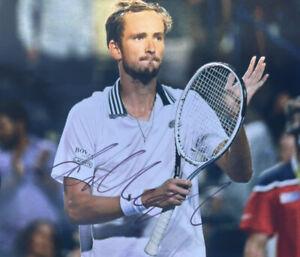 Daniil Medvedev signed 8 x 10 goat 20 Wimbledon us open grand slam