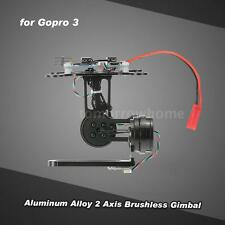 2 Axis Brushless Gimbal w/BGC2.2 Control Panel for Gopro 3 4 DJI F450 RC R4Y3