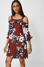 Polyester Floral Dresses A-Line