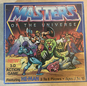 Sealed NOS He-Man Masters Of The Universe 3-D Action Game 3D 1983