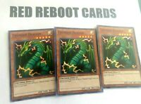3x Thunder Dragon Super Rare HISU 1st ed Yugioh Mint