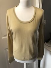 Timberland Relaxed Fit Fine Organic Cotton Jumper Size Medium UK 14