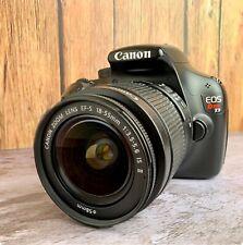 Canon EOS Rebel T3 DSLR Camera GREAT CONDITION w/ 32gb Memory, lenses + more...